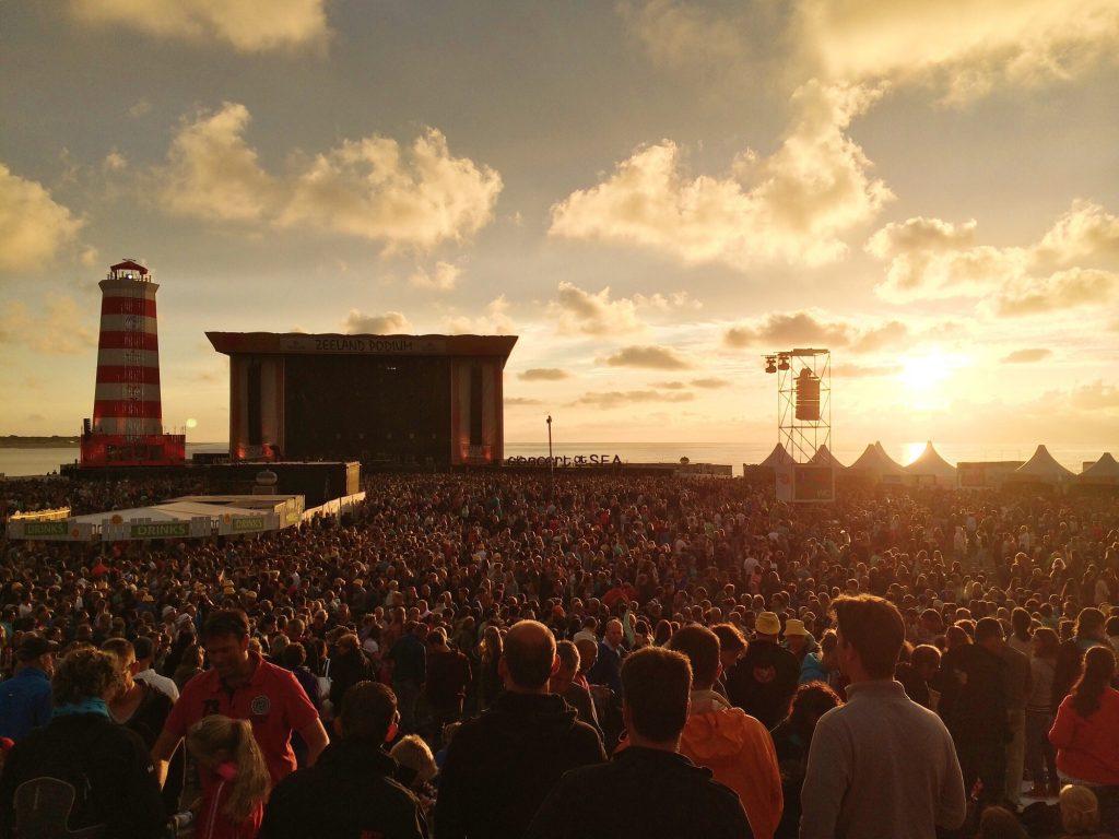 Concert at Sea Zealand